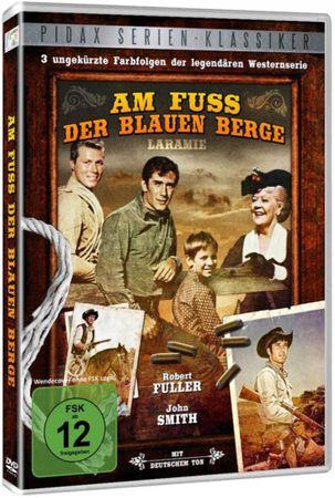 AM FUSS DER BLAUEN BERGE VOL. 1 LARAMIE DVD NEU