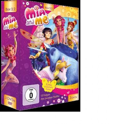 MIA AND ME - BOX 2 STAFFEL 2 FOLGE 14 - 26 3DVD NEU