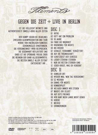 BÖHSE ONKELZ - MEMENTO - GEGEN DIE ZEIT + LIVE IN BERLIN 3DVD NEU