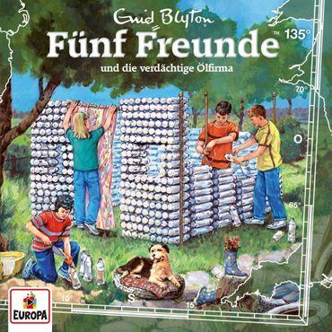 FÜNF FREUNDE - FOLGE 135 UND DIE VERDÄCHTIGE ÖLFIRMA CD NEU