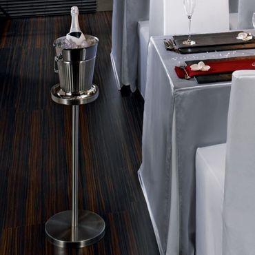 Voldo Ständer / Halter für Flaschenkühler THORBEN Wein Sekt  Kühler 18/10 Edelstahl - Tisch Party Grillen Gastro Buffet - 100-791