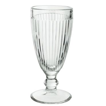Voldo 6-er Eis Becher DOMINGO Glas Schale  - mit Fuß - Appetizer Fingerfood Snacks Obst - Buffet Party Gäste Bar Gastro - 101-000