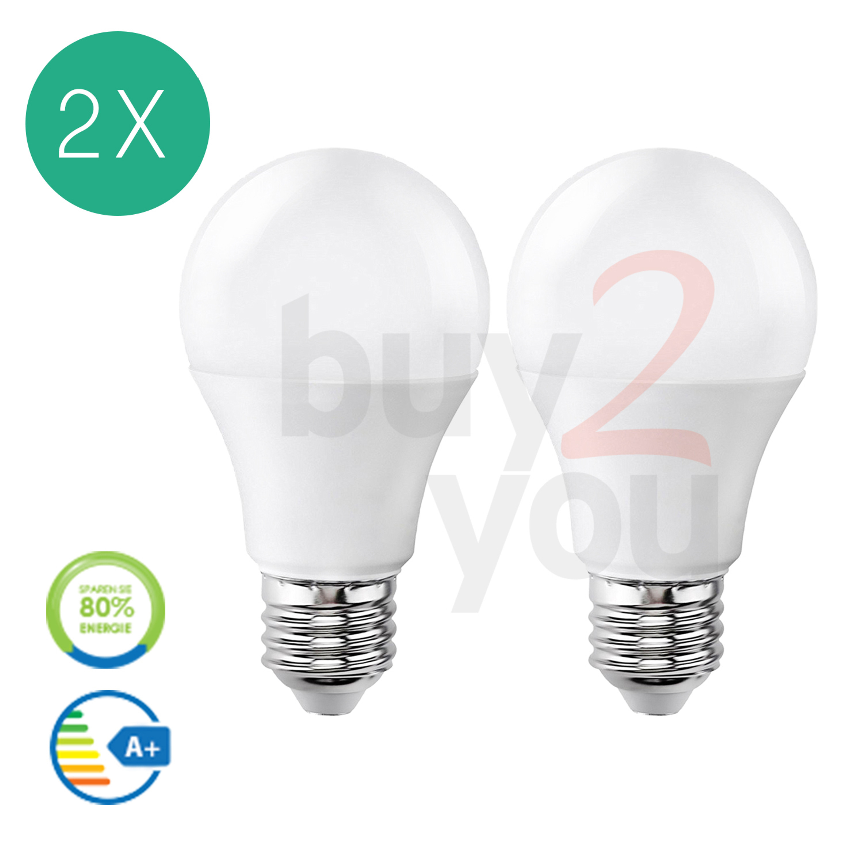 leuchtmittel led bulb 2 st ck v tac e27 vt 1853 10 watt e 27 kaltwei 806 lm led birne e27. Black Bedroom Furniture Sets. Home Design Ideas
