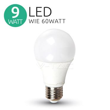 VT-2099 KW LED Birne 9W (60W) A60 E27 6400K 806 lm