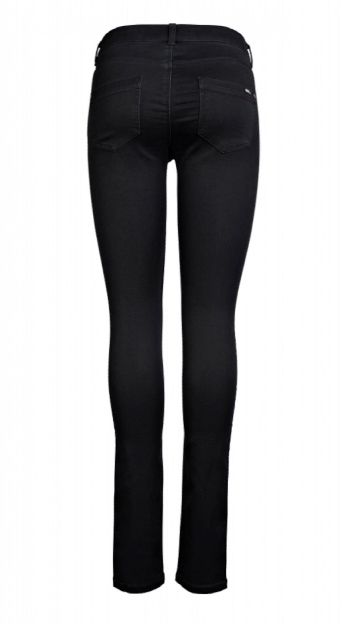 Only Damen Jeans Hose Röhre Hüftjeans 15077793 schwarz Skinny REG soft Ultimate