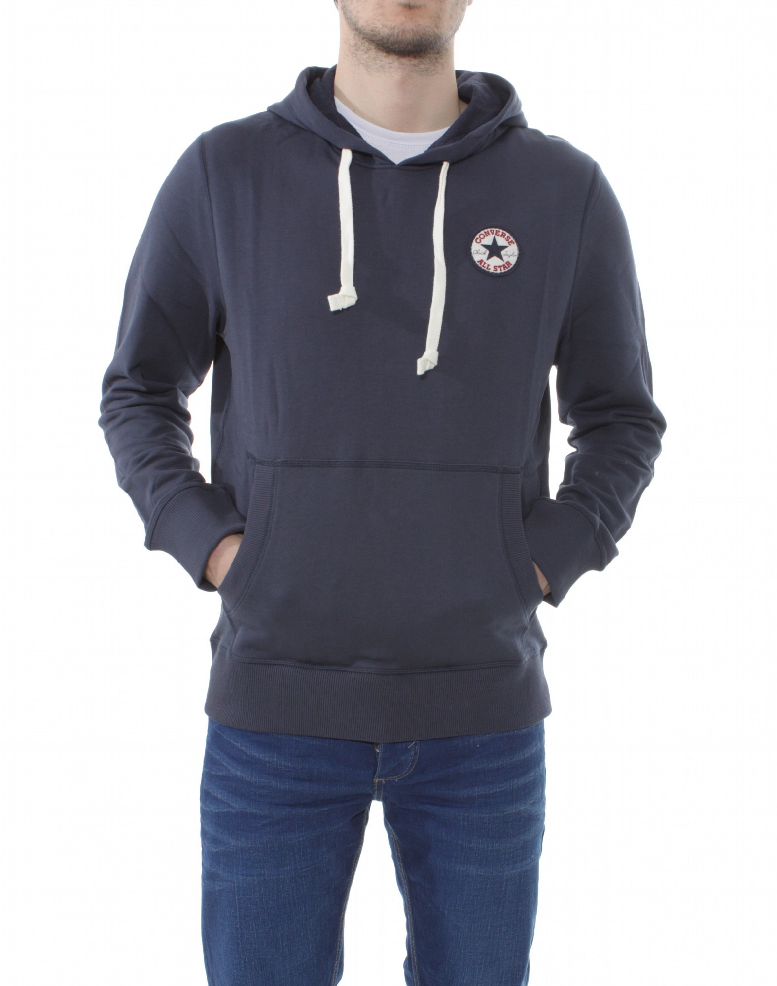 converse sweat hoodie amk core 07621c gr m herren pullover. Black Bedroom Furniture Sets. Home Design Ideas