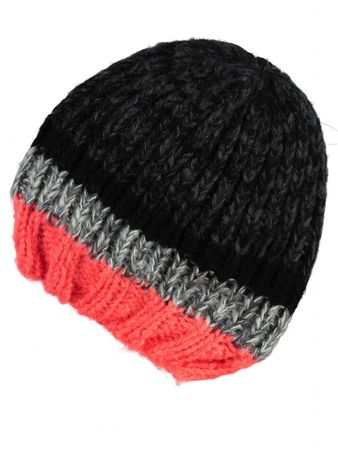 Name It Mütze Mossy Kids Knit Hat 414 Fiery Coral 13103336