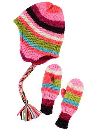 Name It Mütze Meline Mini Knit Set Girl 13107851
