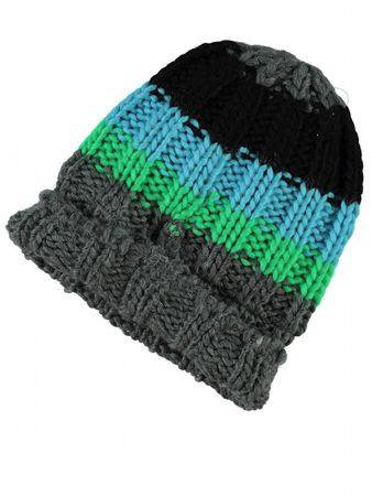 Name It Mütze Moshi Mini Knit Hat 13103294 dark grey