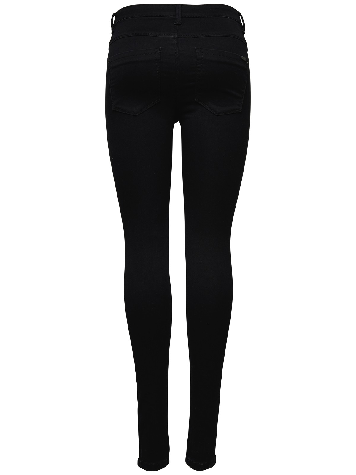 only damen jeans hose onlroyal high sk jeans pim600 15093134 schwarz hoch skinny ebay. Black Bedroom Furniture Sets. Home Design Ideas