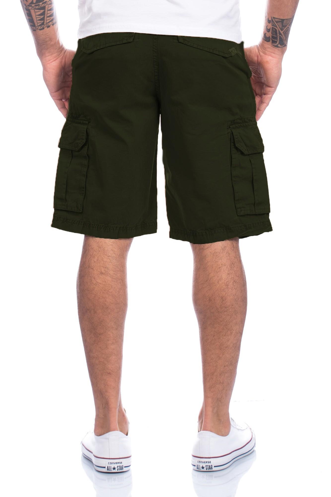 TOM TAILOR HERREN kurze Hose Cargo Shorts Bermuda Sommer