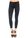 Only Damen Jeans onlRoyal Skinny Zip An Pim 601 schwarz 15122672 001