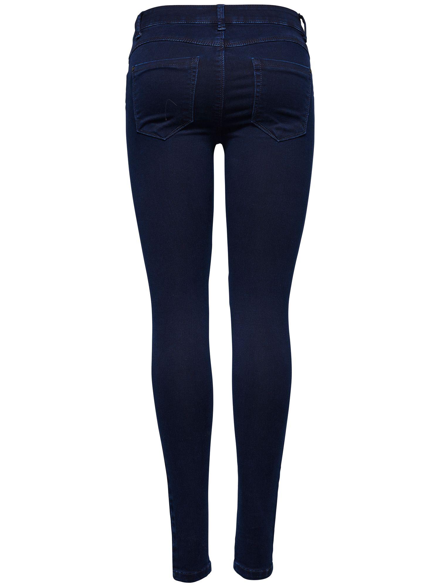 only damen jeans hose skinny hochbund r hrenjeans stretch. Black Bedroom Furniture Sets. Home Design Ideas