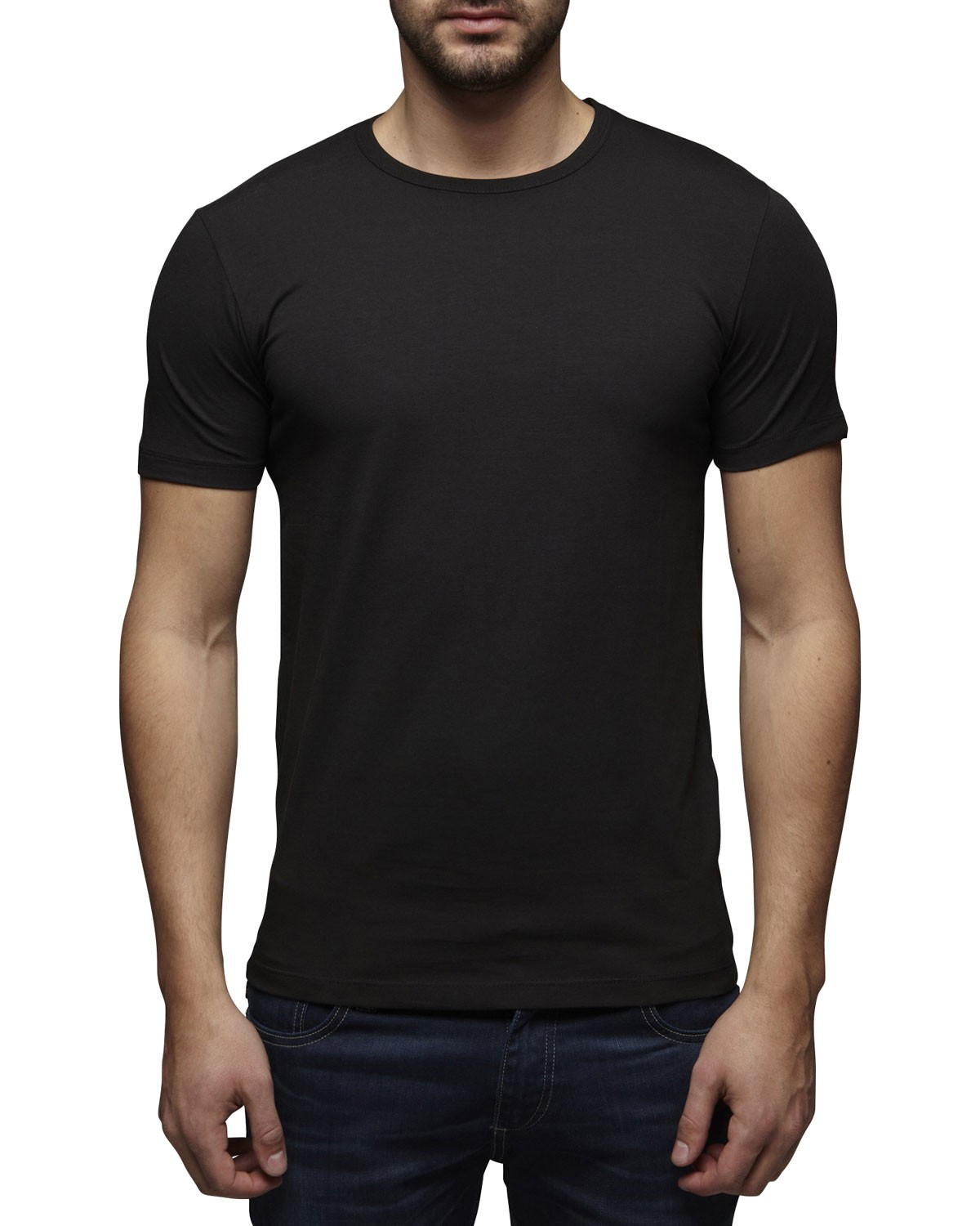 jack jones herren t shirt basic rundhals tee 12058529. Black Bedroom Furniture Sets. Home Design Ideas