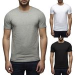 Jack & Jones Herren T-Shirt Basic Rundhals Tee 12058529 001