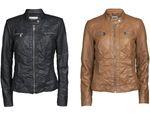 Only Damen Kunstleder-Jacke Bandit PU Biker 15081400 001