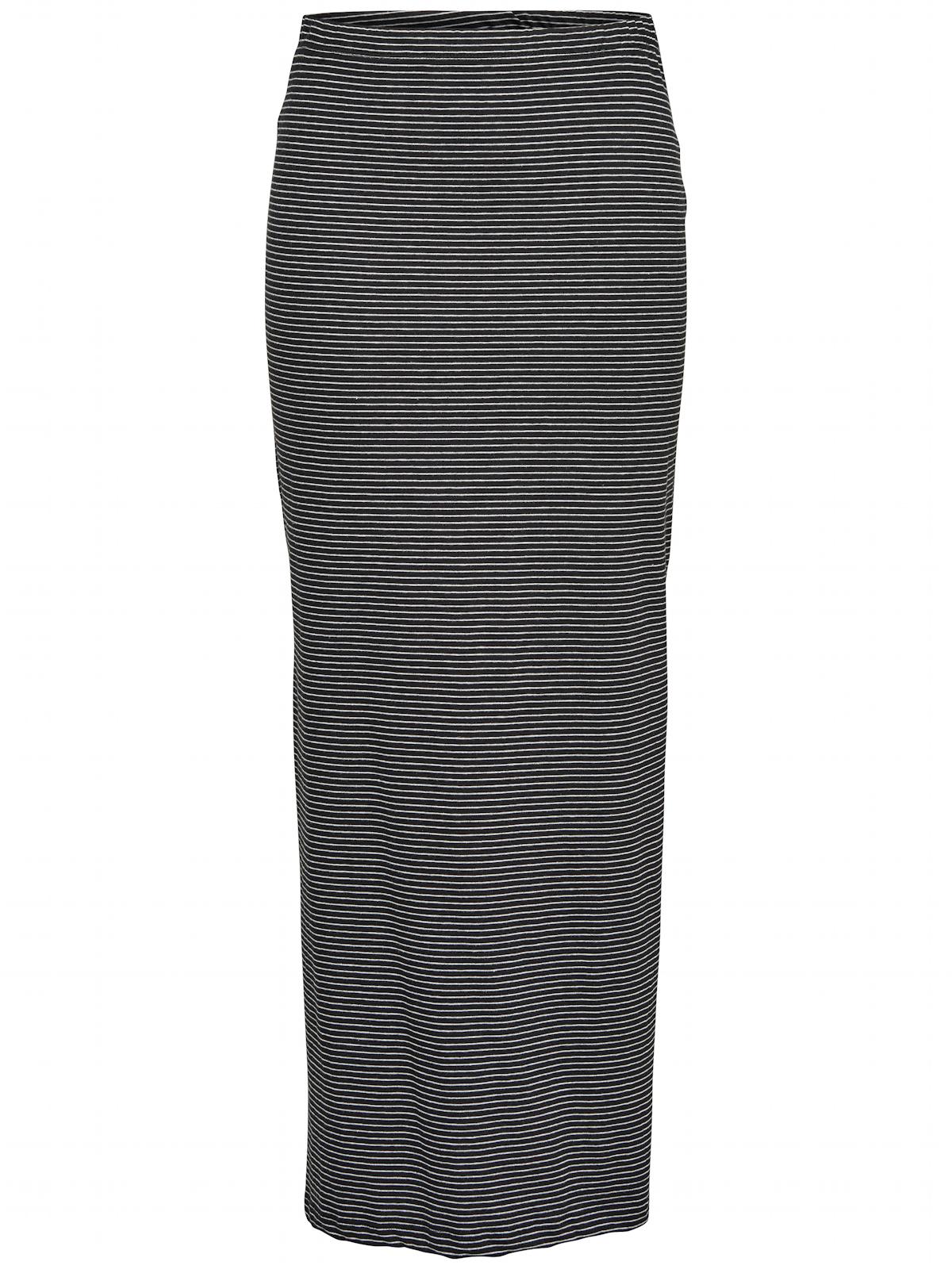 ca0b1e2f88ad3d ONLY Rock XS S M L XL lang maxi gestreift seitlicher Schlitz onlAbbie Skirt  NEU