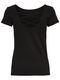 ONLY Damen T-Shirt Onllive Love ss Lace Up Top 15131597 5