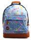 MIPAC Rucksack Tasche Bagpac 740213 rot blau schwarz Stars 8