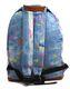 MIPAC Rucksack Tasche Bagpac 740213 rot blau schwarz Stars 9