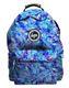 HYPE Rucksack Tasche Backpack 096 blau schwarz lila grün 9