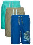 Name it Nitzak Kinder Bade-Shorts-Hose 13137453 blau grün [1]