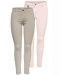 Only Damen Hose Onlserena Regular Ankle Pants Skinny 001