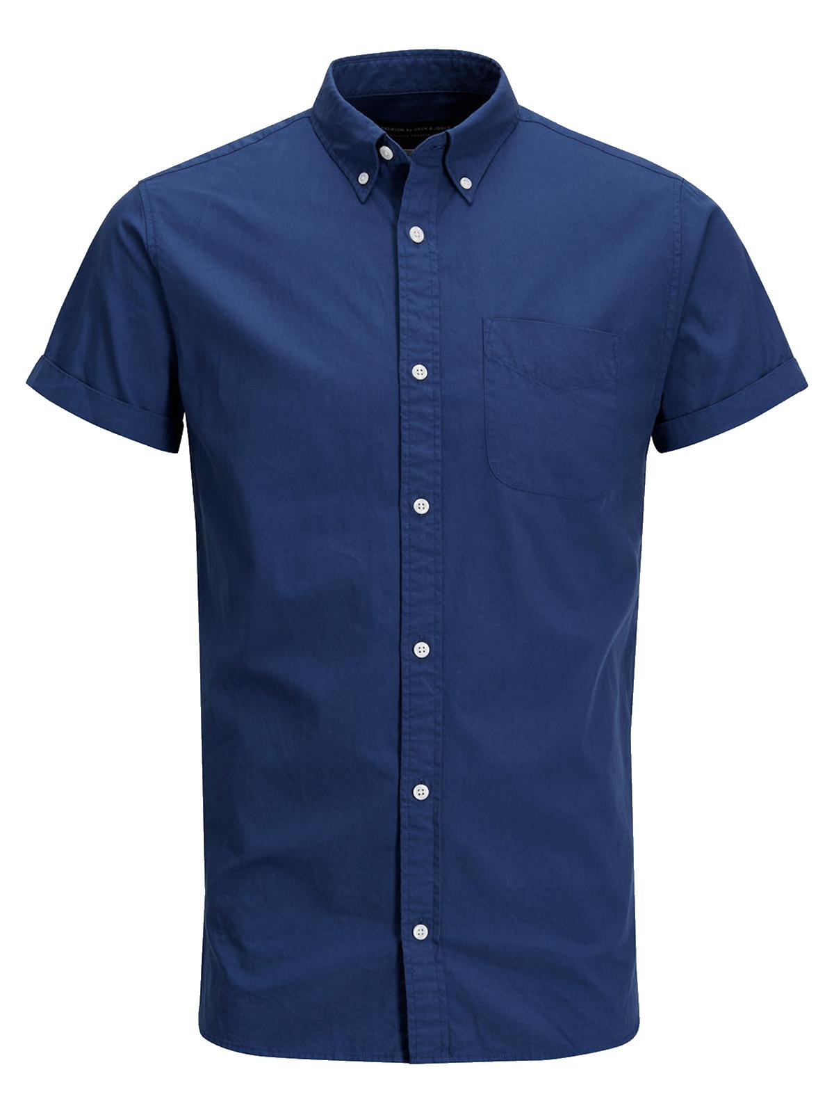 Jack   Jones Herren kurzarm Hemd jprKevin Shirt 12116269 Herren Hemden ba3b73be92
