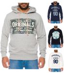 Jack & Jones Herren Kapuzen-Pullover JorMagic Sweat-Shirt 001
