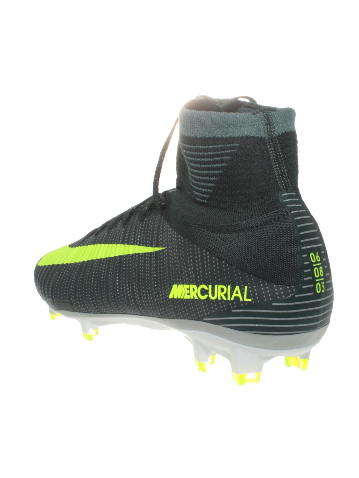 Details zu Nike Fußball Schuhe CR7 Mercurial Superfly FG 852511 376 Socke Fußballschuhe