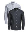 Jack& Jones Herren langarm slim fit hemd JPrPanama Shirt [1]