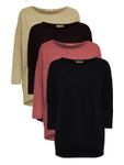 Only Damen Pullover onlElcos 4/5 Solid Top JRS NOOS [1]
