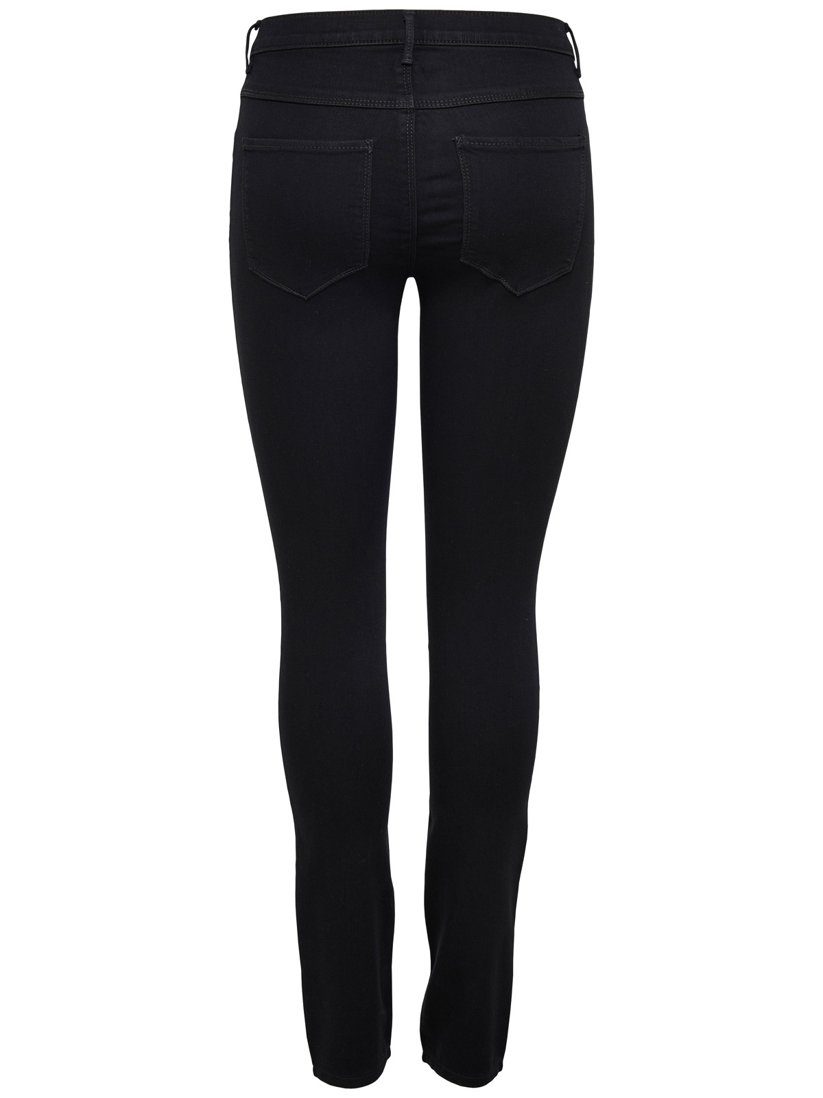 only damen stretch jeans look r hre skinny hose schwarz jeggings treggings neu ebay. Black Bedroom Furniture Sets. Home Design Ideas