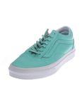 Vans Old Skool Pastel Mono - Damen Leder Schuhe V4OJJJC grün [3]