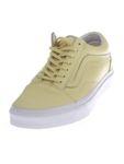 Vans Old Skool Pastel Mono - Damen Leder Schuhe V4OJJJC gelb [3]