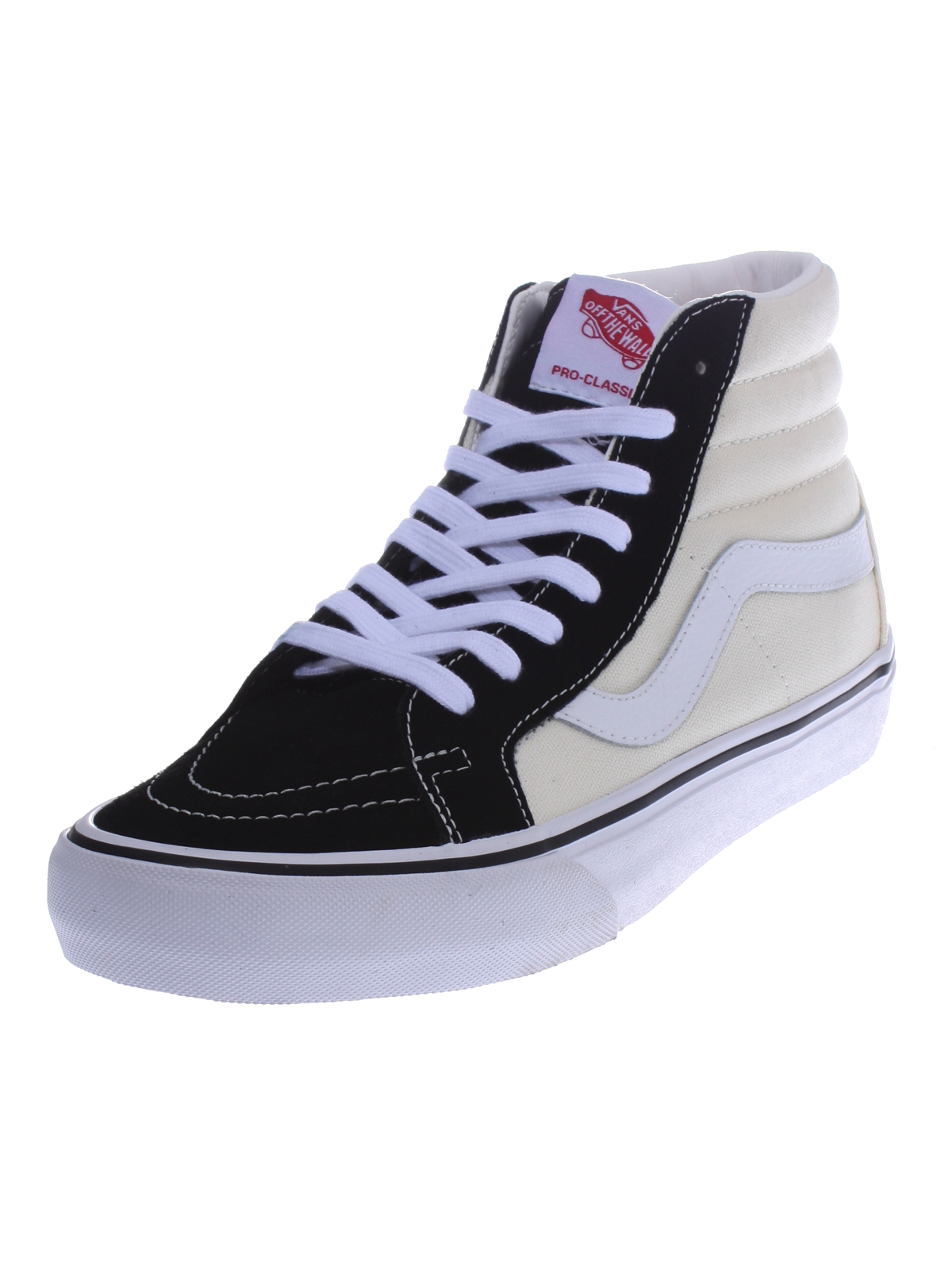 unisex vans sk8 hi pro 50th leder beige schwarz vvhgj6g. Black Bedroom Furniture Sets. Home Design Ideas