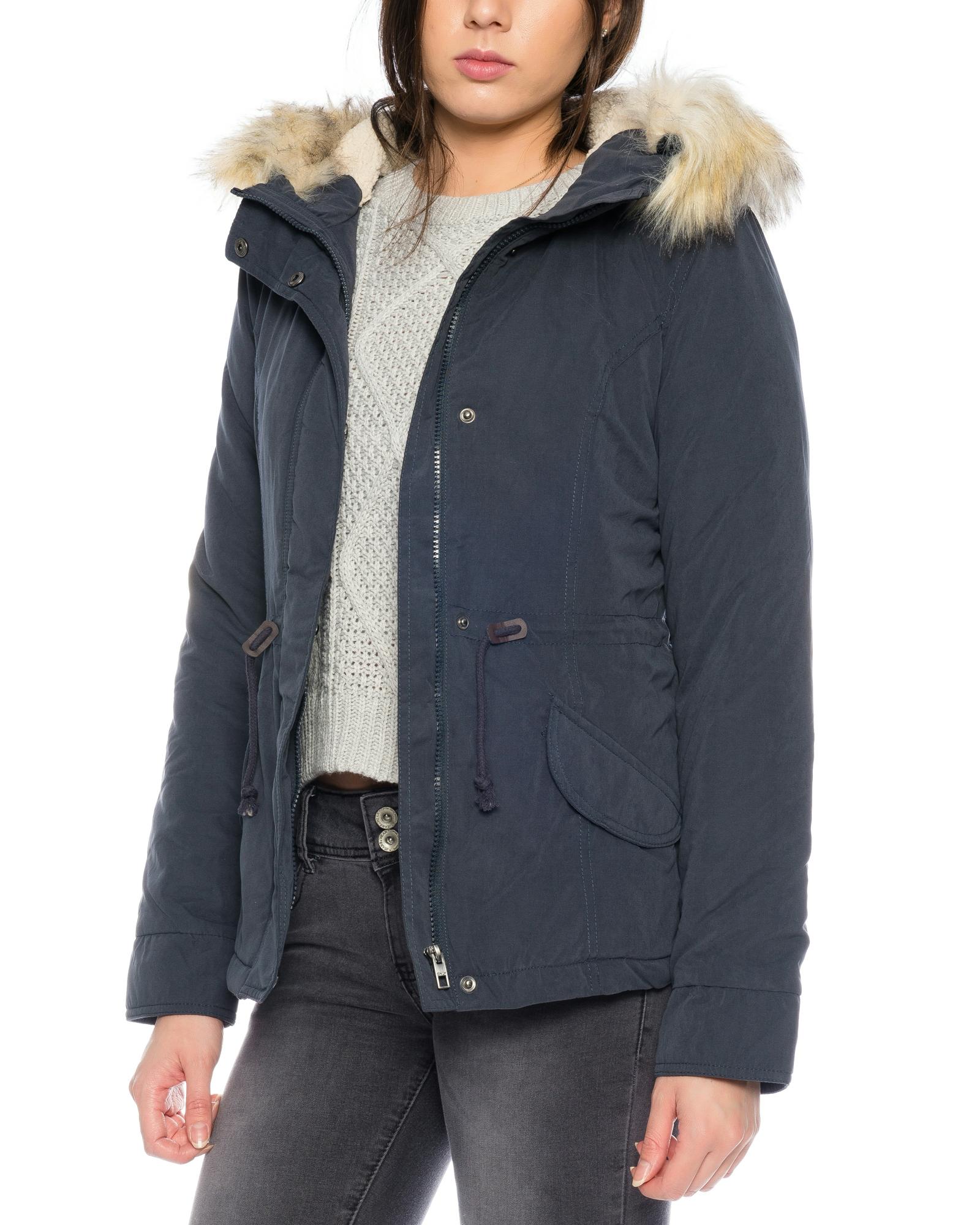 Only damen winterjacke lucca short parka jacket