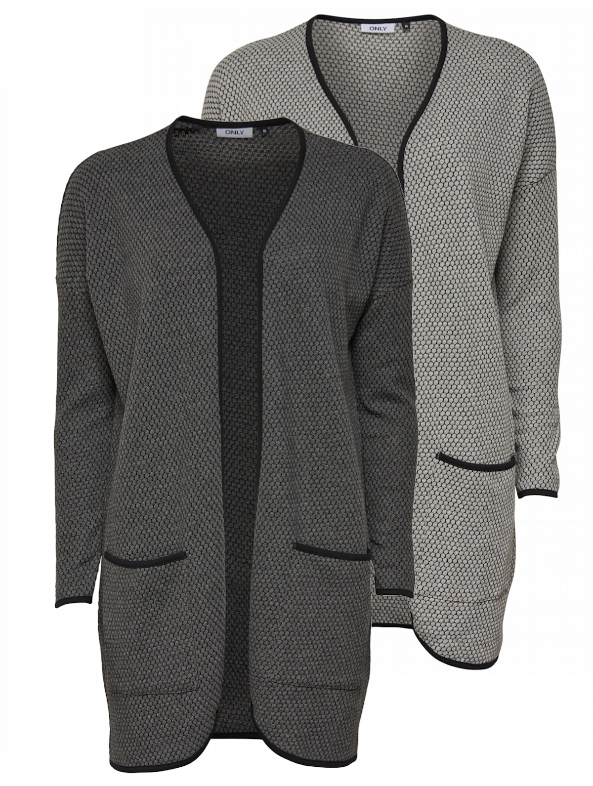 Only damen strickmantel cardigan lange strickjacke mantel for Oversize mantel damen