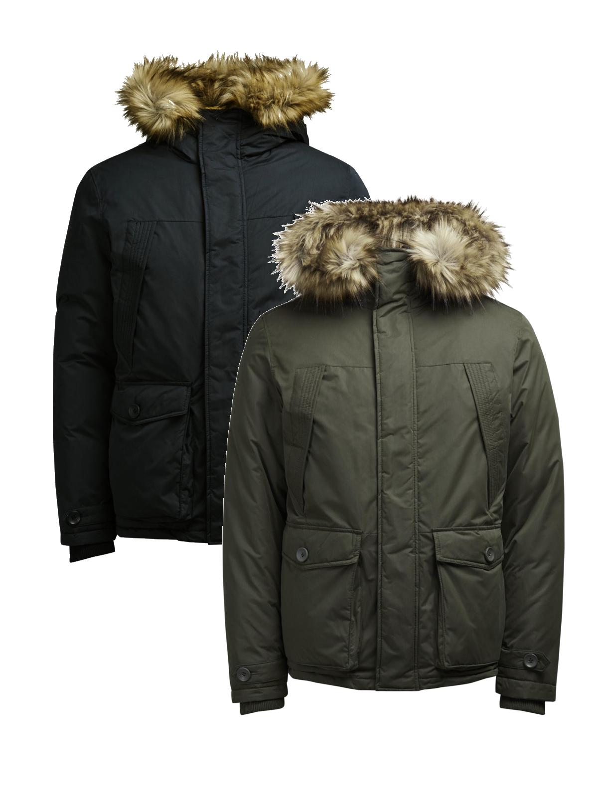jack jones herren winter jacke jormountain parka jacket. Black Bedroom Furniture Sets. Home Design Ideas