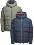 Vintage Jack & Jones Herren Stepp-Jacke Puffer Jacket  [1]