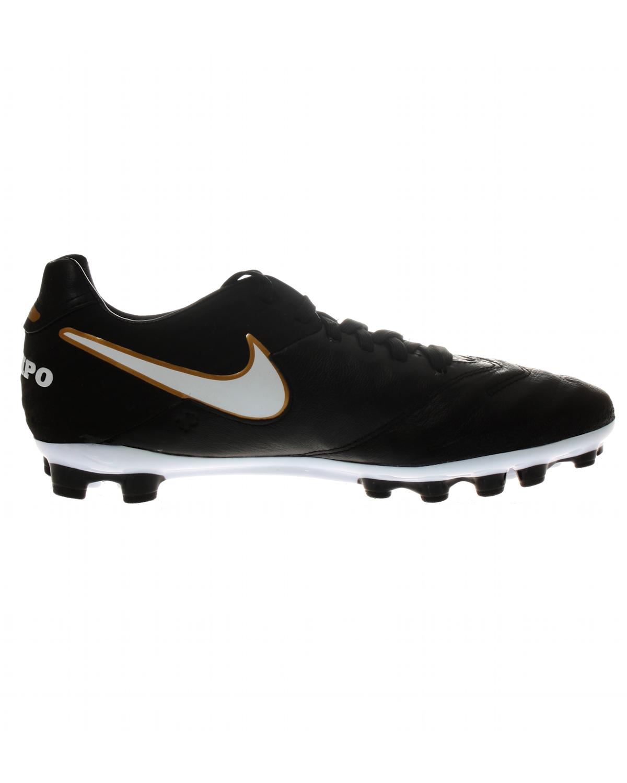 Details zu Nike Tiempo Mystic V AG R 819235 Herren Fußballschuhe schwarz Leder Profi Schuhe
