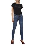 Vero Moda Damen Slim Jeans VMFive Lw Super Slim Jeans Ba108 gr.25-32 001