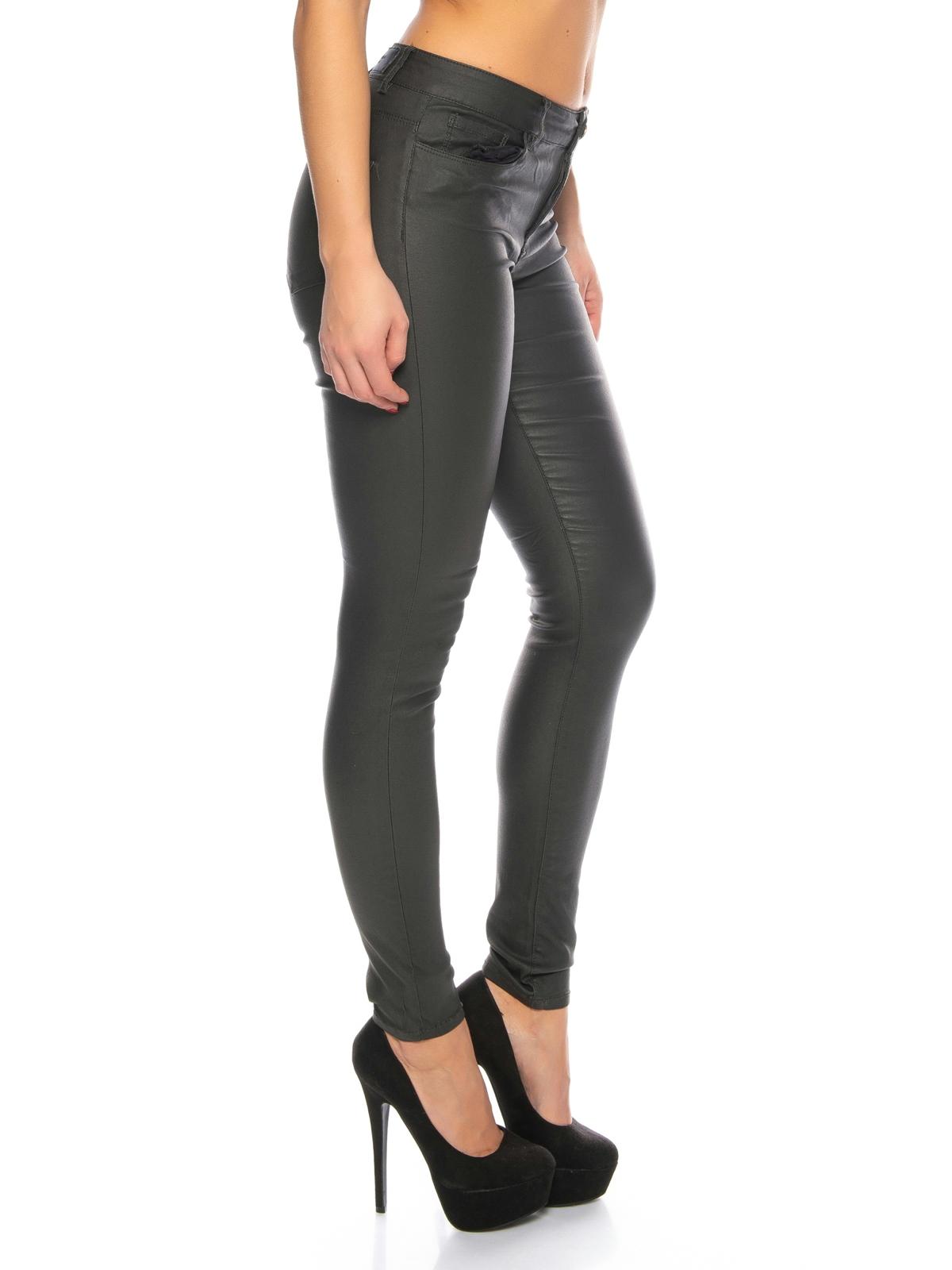 vero moda damen skinny jeans vmseven beschichtet damen jeans. Black Bedroom Furniture Sets. Home Design Ideas