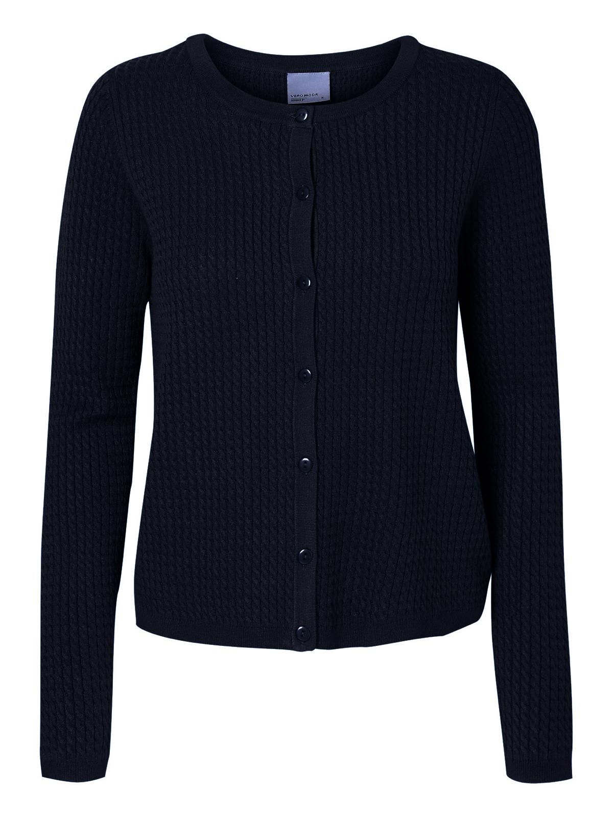907d019f78 Vero Moda Damen Strickjacke XS S M L XL schwarz grau blau kurzer Cardigan  NEU