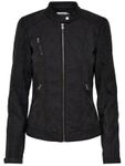 Only Kunstleder-Jacke onlSteady Leather Jacket Stehkragen [3]