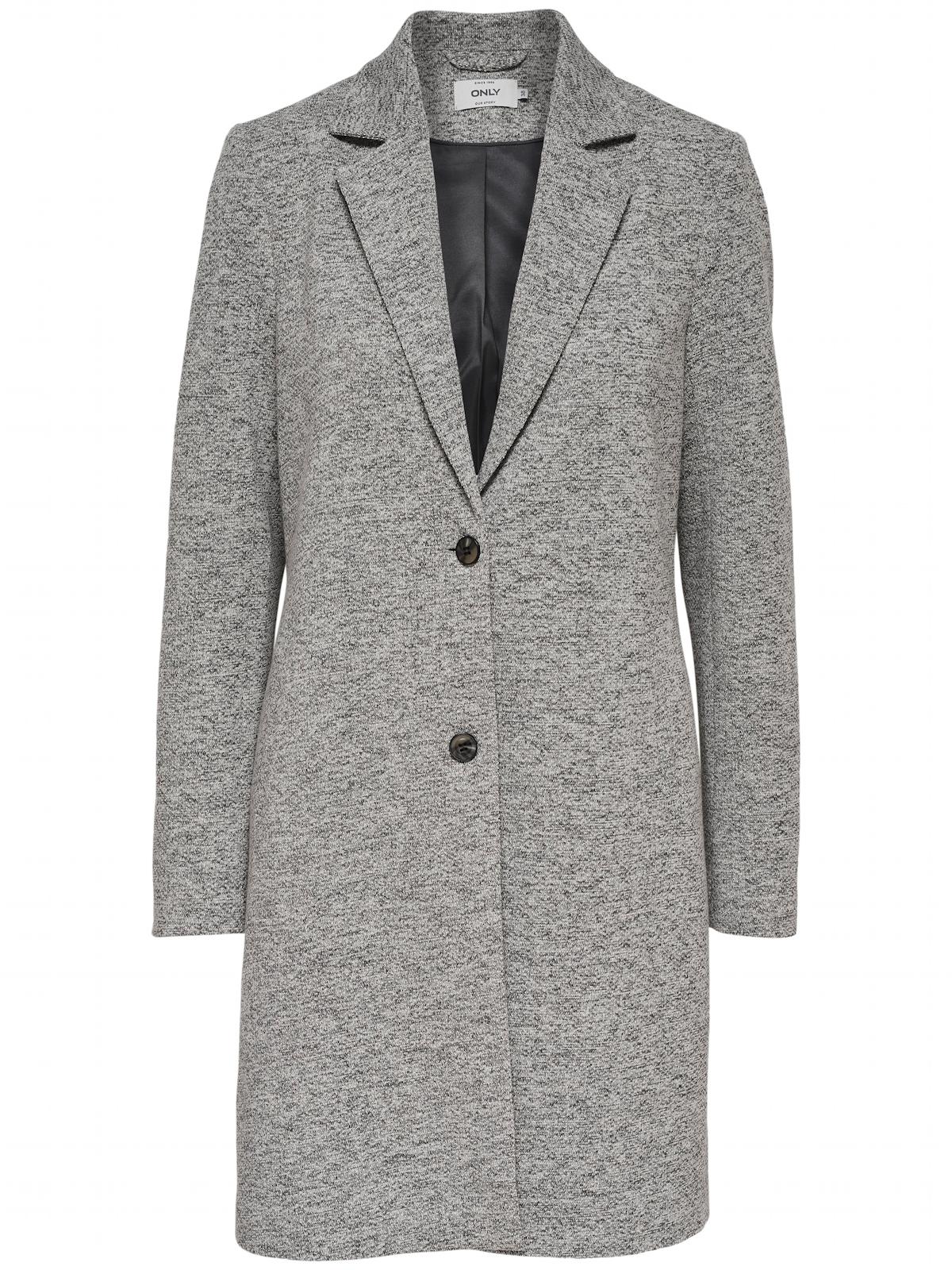 Only Damen Mantel Onlcarrie Mel Coat Cc Otw Beige Rosa Grau