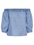 Only Damen Shirt onljanice Off Shoulder Dnm Top schulterfreie Bluse [5]