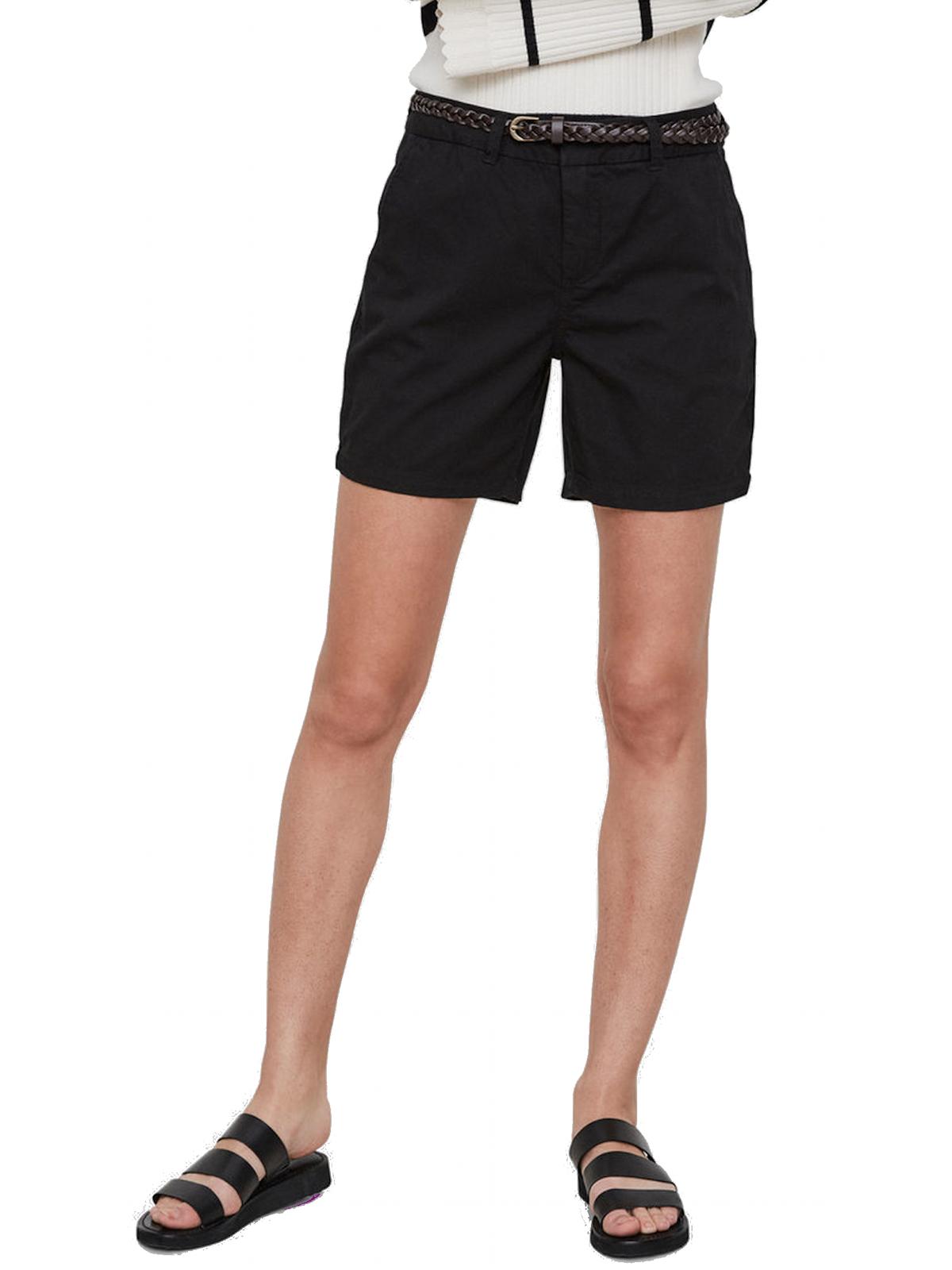 dd60a1bbb7e019 Vero Moda Damen kurze Hose VMFlame Chino Shorts Sommer Short Gr. XS-XL 2