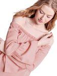 ONLY Damen Bluse Onlsandy Off Shoulder Top Pnt mit Trompeten-Armen [3]