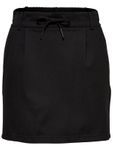 Only Damen Rock Onlpoptrash Easy Skirt Luftiger Sommer Rock gr.34-42 schwarz-rosa [2]